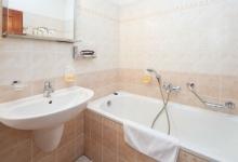 Ванная комната в Little Quarte