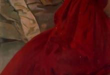 Женщина в красном, 1902