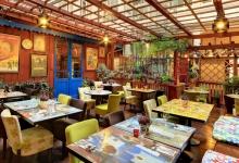 Зал ресторана La Boca в Праге