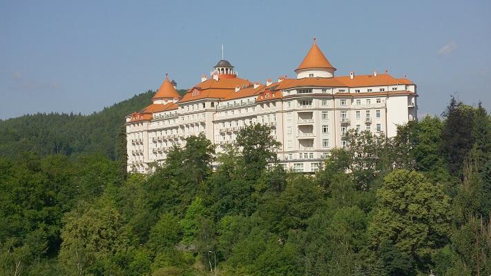 Отель Империал в Карловых Варах