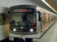 Оригинальная схема метро Праги