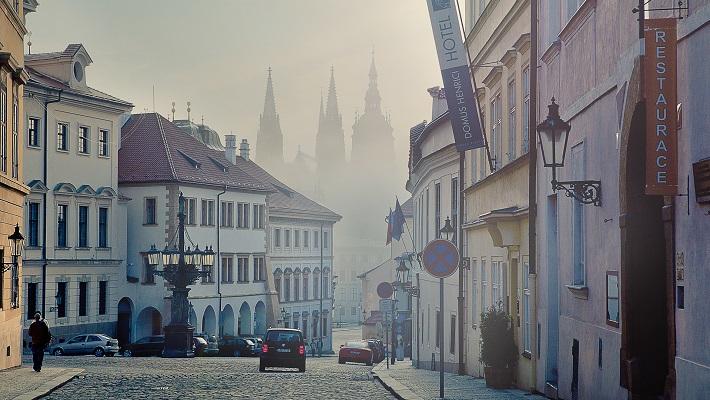 Прага в конце апреля