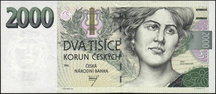 Две тысячи чешских крон