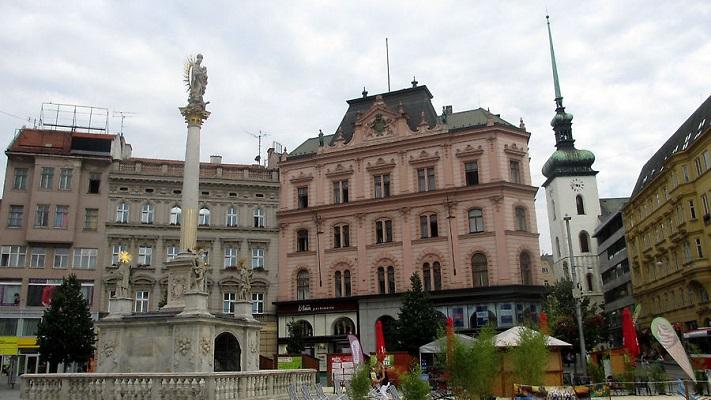 Площадь Свободы в Брно