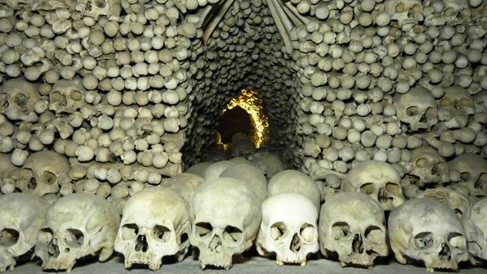 Чешское костехранилище