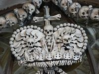Церковь костница в Кутной Горе Чехия