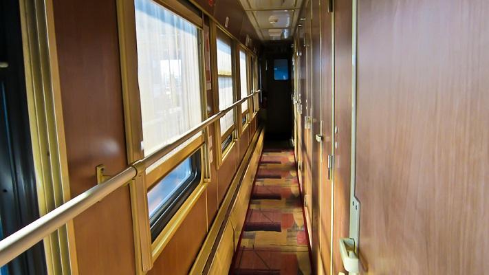 Вагон поезда Москва-Прага
