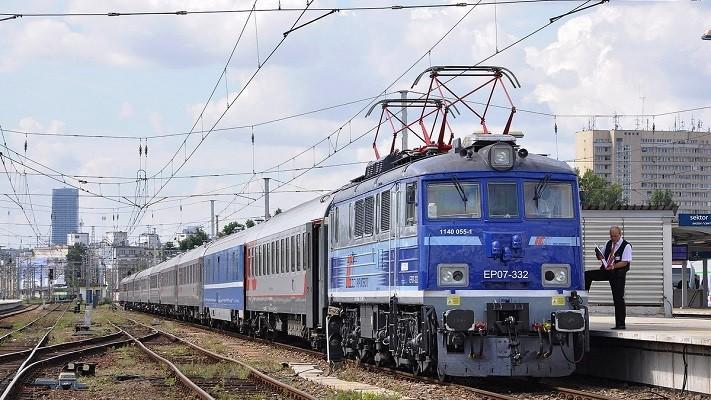 Поезд Москва-Прага фото