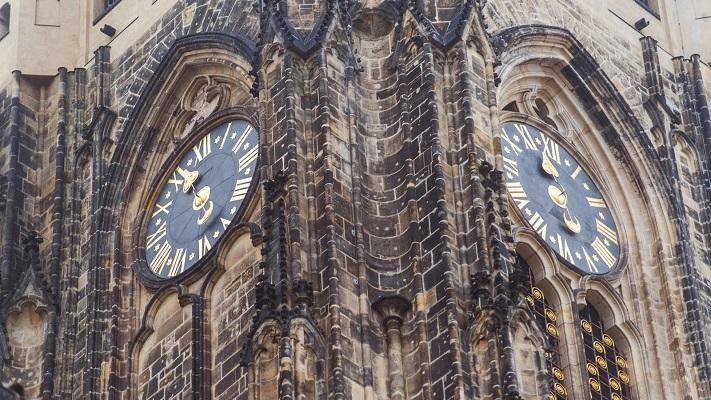 Часы собора святого Вита