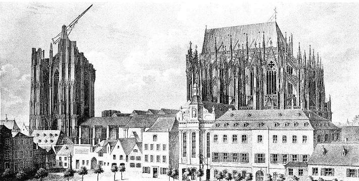 Строительство собора святого Вита в Праге