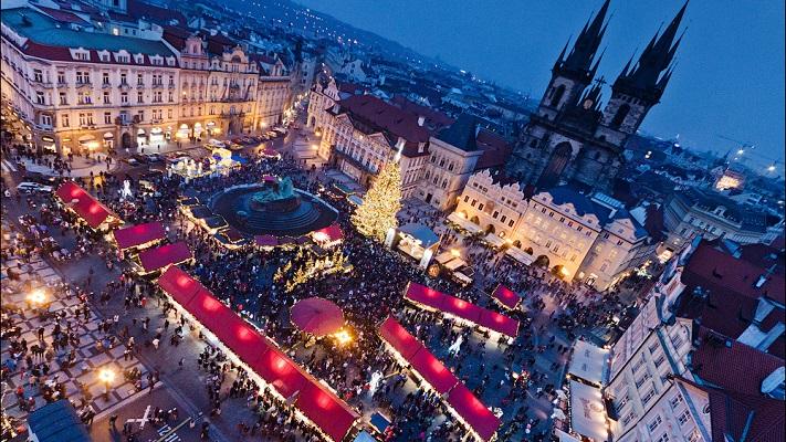 Ярмарки на Рождество в Праге