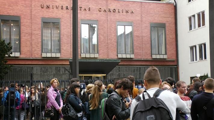 Поступление в Карлов университет фото