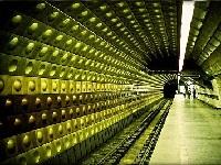 Подробная схема метро в Праге