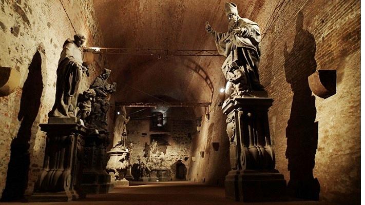 Вышеградские подземелья