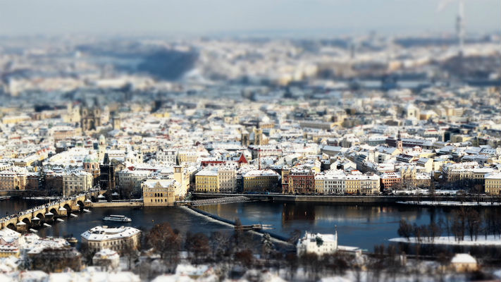 Новогодняя Прага фото