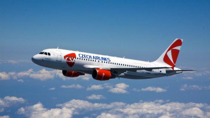 Чешские авиалинии фото