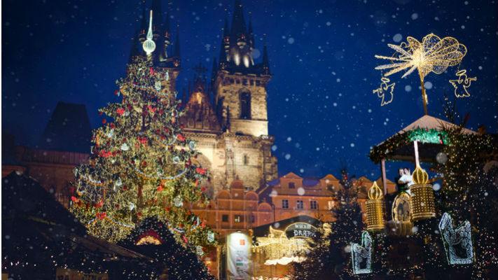 Чехия на Новый год 2018 фото