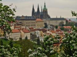 Прага в марте фото