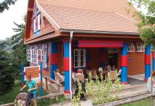 Ресторан в зоопарке Праги