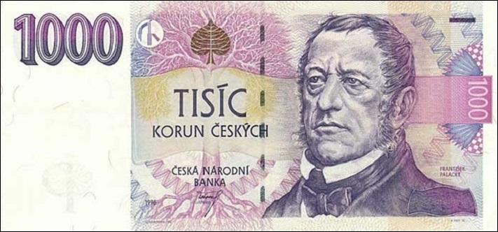 Тысяча чешских крон