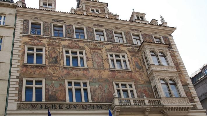 Дом Виля в Праге