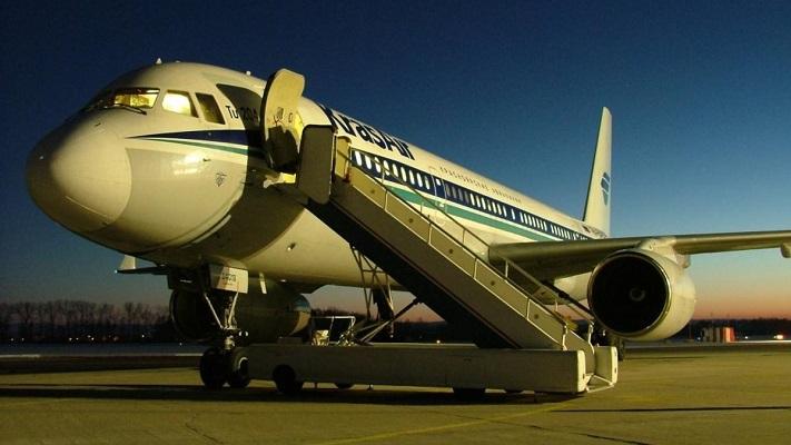 Самолет в Пардубице