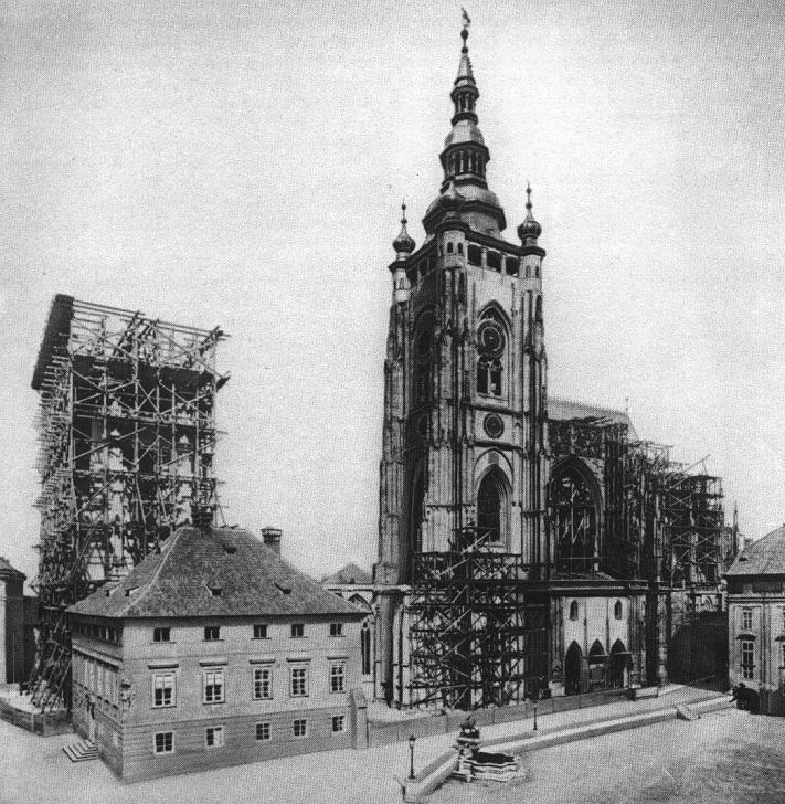 Строительство храма святого Вита
