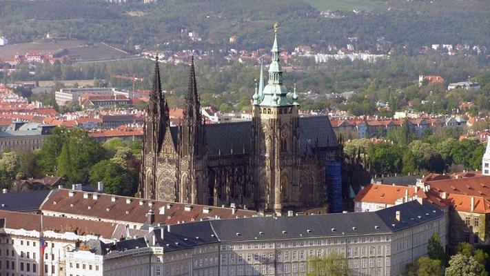 Собор святого Вита в Праге фото