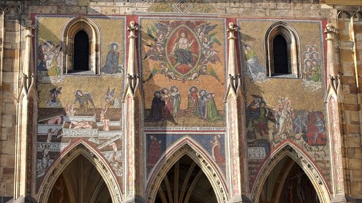 Мозаика собора святого Вита