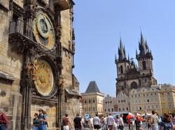 Астрономические часы Орлой в Праге фото