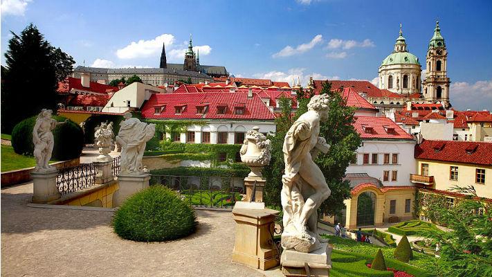 Мала страна в Праге фото