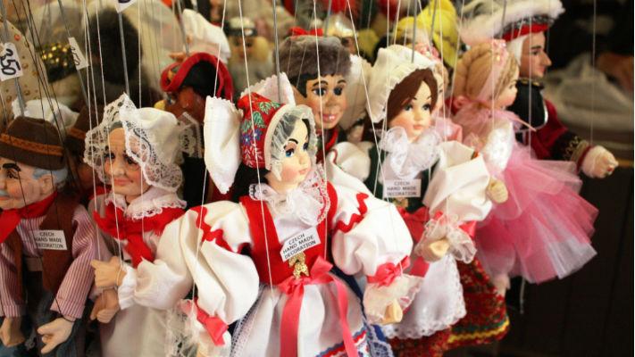 Марионетки из Праги фото