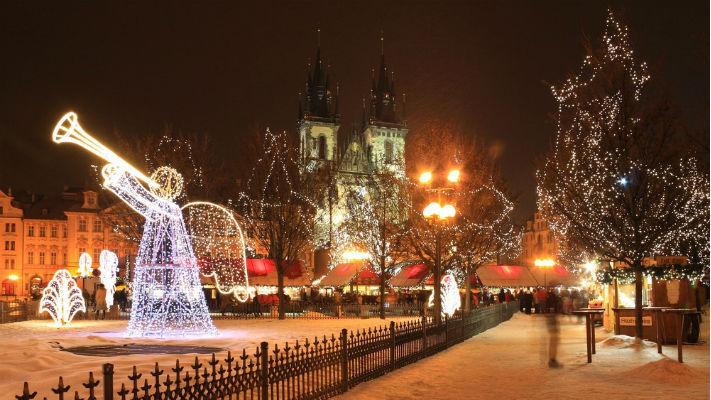 Рождество в Чехии фото