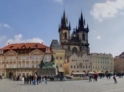 Староместская площадь в Праге на фото