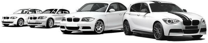 Автомобили БМВ белого цвета